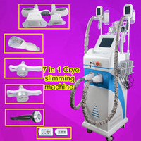 Wholesale anti cellulite treatment - Cryo lipolysis fat freezing machine lipolaser system cavitation rf tripolar radio frequency Anti Cellulite Treatment beauty equipment