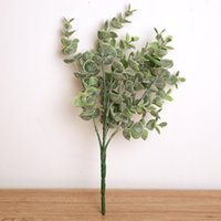 Wholesale vintage bouquets resale online - Green Planting Vintage Artificial Peony Silk Flower Home Wedding Decor Hight Quality Simulation Fake Flowers Creative rm jj