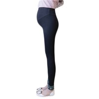 Wholesale knitting clothes for women online - Autumn Spring High Waist Maternity Leggings for Pregnant Women Pregnancy Leggings Pants Maternity Clothes RQ108