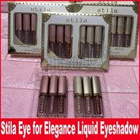 Wholesale Palette Metal - Stila Eye Makeup for Elegance Glow Liquid Eyeshadow Palette MAGNIFICENT METALS GLITTER & GLOW LIQUID EYE SHADOW Set