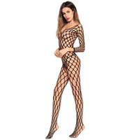 meia-calça aberta venda por atacado-Europa e nos Estados Unidos super-elasticidade buraco meias oco Siamese instalado lingerie sexy meias Siamese aberto Crotch meias líquidas