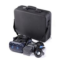 omuz taşıma çantası toptan satış-HTC VIVE PRO VR Vaka Için VR Saklama Poşetleri Kılıf Kapak / Seyahat Taşıma / Omuz Çantası