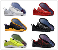 Wholesale Gold Star Discounts - 2018 New Mens KOBE A.D. NXT 12 men KB Volt White Black AD WOLF GREY Zoom Sport Shoes,discount Cheap Basketball Shoes size 40-46