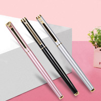 Wholesale deli supplies online - Deli High Quality mm Metal Lraurita Fountain Pen Cute Stationery Ink Pens For Gift Office School Supplies