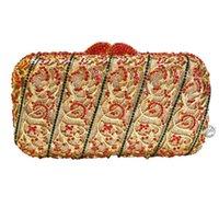 новые прибывшие сумочки оптовых-New Arrived Handbag  Diamond Women Evening Bag Elegant Crystal Day Clutches Bag Shoulder Rhinestones for Ladies 88385