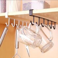 tool cupboards Canada - Kitchen and Bathroom Storage Rack Cupboard Hanging Hook Hanger Chest Storage Organizer Holder m13
