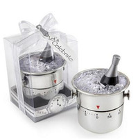 Wholesale Hours Minutes - Cooking Tools Champagne Ice Bucket Kitchen Timers Cooking Tools 60 Minutes Timer Kitchen Tools CCA7453 100pcs