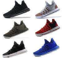 Wholesale orange black kd shoes - New Air KD Basketball Shoes Top quality KD Oreo Be True UniversIty Red White Chrome Kevin Durant Outdoor Sneakers Sports Shoes
