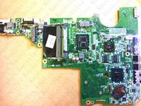 Wholesale hp cq62 laptop resale online - 634649 for HP G42 CQ42 CQ62 laptop motherboard DAAX1JMB8C0 I3 CPU DDR3 test ok