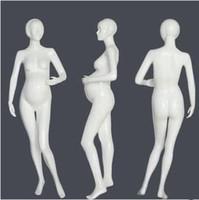 Wholesale clothes for pregnant resale online - Fashionable Fiberglass Female Mannequin Pregnant mannequin For Pregnant Clothes Display