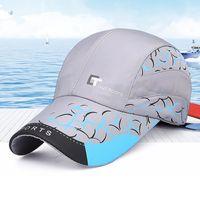 f2d3db174cb MEN Ultra-thin Quick-drying Sports Cap Outdoor Running Camping Wicking Cap  Breathable Sunshade Tennis Baseball Hat