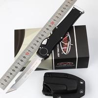 equipement de combat achat en gros de-Couteaux Microtech Scarab Couteau Halo V halo VI (Satin 4,5