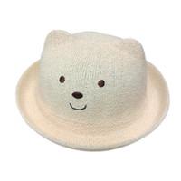 70efc8e442a Summer Baby Hat Fashion Children Cap For Baby Girls Boys Kids Sun Hat Boys  Beach Cap Straw Kids Jazz