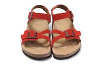 Wholesale Wood Wedge Sandals - Cheap BIRKENSTOCK Colg Mule Beach Peep Toe Sandals Active Womens Ladies Mens Comfort Summer Low Outdoor Wedge Chinela Sandal Sneakers