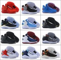 Wholesale high speed threading - 2018 New Arrival New 32 Flights Speed Men's Basketball Shoes for High quality News XXXII 32s Hornets Black Crack Sports Sneakers Size
