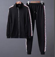 Wholesale higher end dresses resale online - kk Medusa suit new high end luxury fashion jogging suit dress long sleeve zippers cultivate one s morality of high quality sport suit
