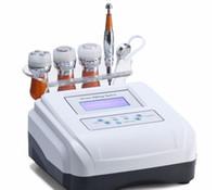 máquina de mesoterapia portátil al por mayor-Dispositivo de electroporación portátil de alta calidad de la venta caliente ninguna mesoterapia de la aguja ninguna máquina de la mesoterapia de la aguja