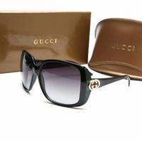 tienda de gafas de alta calidad al por mayor-2018 Nuevo diseñador de la marca de moda L3166 gafas de sol mujeres hombres marco de alta calidad gafas de sol de dama conducir compras gafas envío gratis
