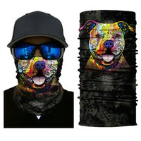 Wholesale neck warmer scarf sport - Skull Face Mask Motorcycle Ski Biker Neck Ghost Mask Bandana Balaclava Headwear Outdoor Sports Windproof Mask Warm Scarf
