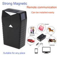 Wholesale Tracker Gps Car Tracking System - GT001 Mini Magnetic GPS Tracker Locator Car Vehicle Real Time Tracking System Device GPS Locator GPS_103