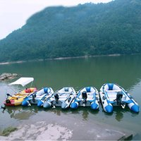 Wholesale Inflatable Kayaks - Inflatable Boat Inflatable Rafting Fishing Dinghy Tender Pontoon Boat Fish Hunter & Person Inflatable Raft Boat kayaks