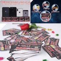 Wholesale New Original Rsim Smart Activation Unlock SIM Card Heicard Unlocking Card For iPhone XS MAX IOS12 Support Edit Iccid