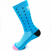 Wholesale portable ventilation - Men Sport Running Cycling Designer Socks Portable Football Stockings Stink Prevention Hosiery Ventilation Sock Wave Point Fashion 7yk dd