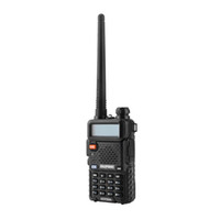 Wholesale Walkie Talkie - Hot BaoFeng UV-5R UV5R Walkie Talkie Dual Band 136-174Mhz & 400-520Mhz Two Way Radio Transceiver with 1800mAH Battery free earphone(BF-UV5R)