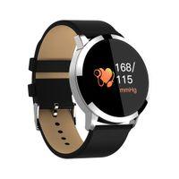 умные часы стали водонепроницаемыми оптовых-Newwear Q8 Смарт-Часы Из Нержавеющей Стали Водонепроницаемый Носимых Устройств Smartwatch Спортивные Часы Роскошные Мужские Часы Бизнес Мужские Наручные