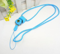 Wholesale Broken Phones - The mobile phone hang cord can be broken up with the rotary buckle and hang the neck ring
