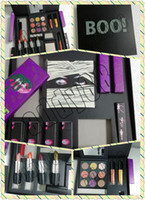 Wholesale lipstick bundles for sale - Group buy 2018 Newest Makeup Set KL The Halloween Collection Bundle Colors Eyeshadow Palette Matte Lipstick Gloss Highlights Makeup Gift Set