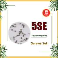 Wholesale rose connector - For iPhone SE Full Screw Set With 2 Five Star Torx Pentalobe Dock Connector Bottom Screws Black Silver Gold Rose Complete Sets Replacement