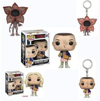 Wholesale Q Models - FUNKO POP Strange Stories stranger things Hand Q version of the doll cannibal model doll keychain pendant Peripherals