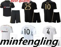 Wholesale bella white - New Best 2018 2019 LAFC Carlos Bella Male Kit Soccer Jersey 2018 Home Gaborone CIMAN ZIMMERMAN Home Away Jersey Los Angeles FC Sweatshirt