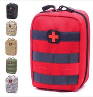 Wholesale outdoor medical bags resale online - Empty Bag for Emergency Kits Tactical Medical First Aid Kit Waist Pack Phone Outdoor Camping Hiking Travel Tactical Molle Pouch Mini