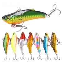 Wholesale artificial lures japan resale online - 7pcs Minnow Fishing Lure VIB Lure Hard Bait Isca Artificial Pesca Fishing Accessories cm g Japan VIB Hard Lures For Bass