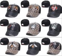venta de gorros al por mayor-2018 venta caliente Big head cap golf presa bone sun set baloncesto gorras de béisbol hip hop sombrero snapback sombreros de abeja para hombres mujeres casquette gorras