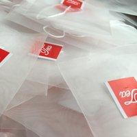 freie leere teebeutel großhandel-Leere Pyramiden-Teebeutel-Tee-Teetasse-neues Teesieb-Teebeutel des Verschiffens 2000pcs / lot freies Verschiffen