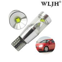 Wholesale t5 led car signal light - WLJH Canbus LED T10 Car Light License Plate Parking For VW Passat B5 B6 T5 Tiguan Touran Golf 4 5 7 6 Polo