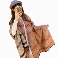 Wholesale ms cashmere - 2018 New Fashion 60cm * 200cm Ms. Winter Scarf High Quality Warm Long Scarf women Luxury Plaid Artificial Cashmere Thick