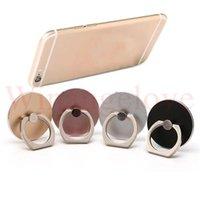 mobiler fingergriff großhandel-360 ° Ring Finger Stand Halterung Halter Finger Grip für Smartphones Handy für iPhone 8 x 7 plus Samusng S8 S7
