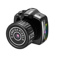 ingrosso registratore audio microcamera-Camera KERUI Y2000 portatile 480P piccola micro mini videocamera audio digitale DVR DV di movimento registratore videocamera