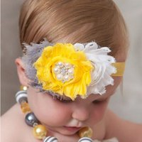 Wholesale Stone Hair Headband - TWDVS Fashion Headwear Feather Flower Headband Elastic Headbands Hair Bands Accessories Hair Stones Flower W103