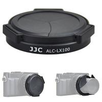 Wholesale replace lens - JJC Camera Protector Black Silver Auto Lens Cap for Panasonic LUMIX DMC-LX100 and LEICA D-LUX(Typ 109) replaces DMW-LFAC1