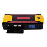 Wholesale car charger power bank - 82800mAh 12V Pack Car Jump Starter Emergency Charger Booster Power Bank Battery 600A DDA290