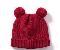 en iyi çocuklar kışlık şapkalar toptan satış-Çocuklar kış kız indirimler için en iyi kalite 2019 yeni şapkalar caps