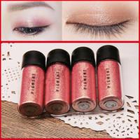 Wholesale eye shadow 3d - M Brand Makeup Glitter Eyeshadow Powder Waterproof Loose Shimmer Eyeshadow Pigment 3D Nude Metallic Eye Shadow Makeup Cosmetics 2.5g