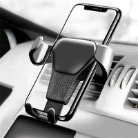handy-griff für auto großhandel-Universal Autotelefonhalter Lüftungsschacht Mount handy halter Einstellbare GPS handyhalter Stand Halterung für Samsung s8 iphone X