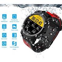 ingrosso monitor cronometro-FS08 Bluetooth Smart Watch Impermeabile IP68 Swim GPS Sport Fitness Tracker Cronometro Monitor per la frequenza cardiaca Orologio da polso