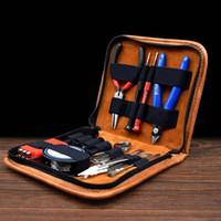 Wholesale tool coils kit for sale - Group buy ROMIO Tool Kit Vapor RBA RDA Ecig Tools Kit DIY Tool Bag For E Cigarette RDA RBA Vaporizer Atomizer Coil Designer DHL Free